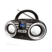 Lecteur Musique INOVALLEY R102/2 Boom box - 2x5 W - CD / FM / MP3
