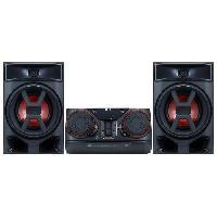 Lecteur Musique LG CK43 Mini chaine Hi-Fi Bluetooth et effet DJ - Noir