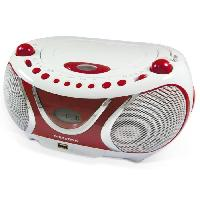 Lecteur Musique MET 477117 Radio CD-MP3 Cherry