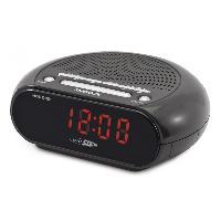 Lecteur Musique Radio-reveil FM numerique PLL Large ecran LED - Caliber