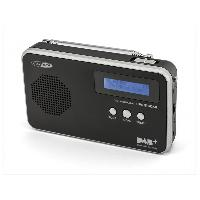 Lecteur Musique Radio portative FM DAB+ avec pile integree - Caliber