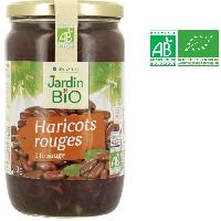 Legumes Secs - Legumineuses - Haricot - Feve - Pois - Lentilles Haricots rouges bio - 660 g