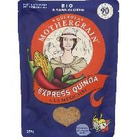 Legumes Secs - Legumineuses - Haricot - Feve - Pois - Lentilles Quinoa express mexicaine bio - 250g