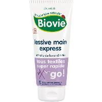 Lessive BIOVIE Lessive express a la main au savon d'Alep - 200 ml