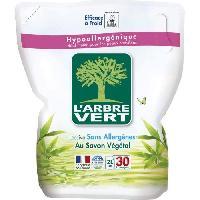 Lessive L'Arbre Vert Recharge Lessive Liquide Ecologique - Savon Végétal - 2L