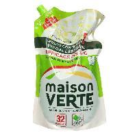 Lessive MAISON VERTE 188844 Lessive concentrée hypoallergénique - Fraîcheur d été - 32 lavages - 1.9 L