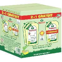 Lessive Rainett Lessive recharge Savon de Marseille 1.98 l - 2 + 1 gratuit