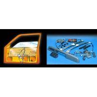Leve vitres KIT DE LEVE VITRE ARRIERE POUR FIAT PUNTO 4P 93-99 5INTER UNIV TYPE F - ADNAuto