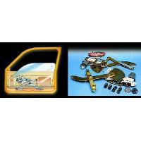 Leve vitres KIT DE LEVE VITRE AVANT POUR HONDA CIVIC CRX 2P 88-92 3INTER UNIV TYPE B ADAPTABLE