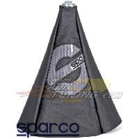 Leviers de vitesses Soufflet de levier de vitesses - Noir Sparco