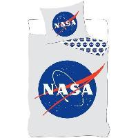Linge De Lit NASA- HOUSSE DE COUETTE-PARURE DE LIT 140X200 CM+1 TAIE 63X63 CM.National Aeronautics and Space Administration
