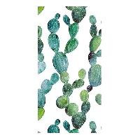 Linge De Plage GOOD MORNING Serviette de plage Cactus - 100 x 180 cm