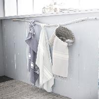 Linge De Plage TODAY Fouta Coton fibre naturelle - 100x190cm - Bleu Escale