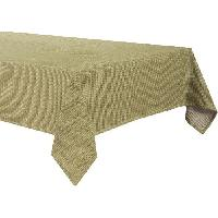 Linge De Table - Cuisine DEKOANDCO Nappe Honey - 150x250 - Encre