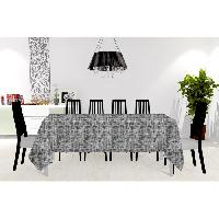 Linge De Table - Cuisine Nappe - Galaxy - 150X250 cm - Noir
