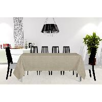 Linge De Table - Cuisine Nappe - Galaxy - 150X250 cm - Taupe