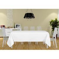 Linge De Table - Cuisine Nappe Alix - 160x270 cm - Blanc