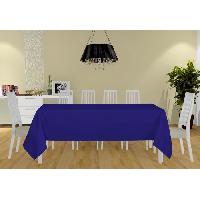 Linge De Table - Cuisine Nappe Alix - 160x270 cm - Bleu marine