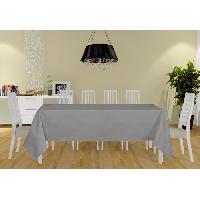 Linge De Table - Cuisine Nappe Alix - 160x270 cm - Gris