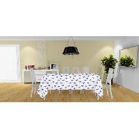 Linge De Table - Cuisine Nappe anti-tache Colibri - 140x240 cm - Bleu