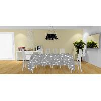 Linge De Table - Cuisine Nappe anti-tache Colibri - 140x240 cm - Gris