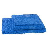 Linge De Toilette JULES CLARYSSE Lot de 1 serviette + 1 drap de bain + 1 gant de toilette Viva - Bleu