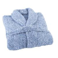 Linge De Toilette JULES CLARYSSE Peignoir Soft - LXL - 100 polyester - Bleu