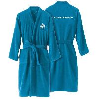Linge De Toilette OM Peignoir adulte a col kimono - Bleu - S