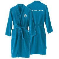 Linge De Toilette OM Peignoir adulte a col kimono - Bleu - XL