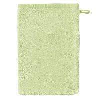 Linge De Toilette SANTENS Gant de toilette BAMBOO 16x22 cm - Vert tilleul