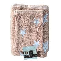 Linge De Toilette STAR Set de toilette 100 coton - 2 serviettes + 2 gants rose