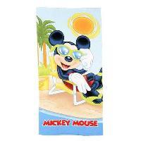 Linge De Toilette Serviette de plage microfibre enfant Mickey