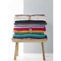 Linge De Toilette TODAY Maxi Drap de bain Jus de myrtille - 100% Coton - 100 x 150 cm TODAY