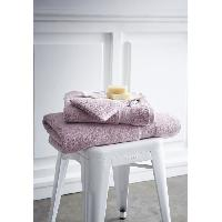 Linge De Toilette TODAY Set de 4 pieces éponge prémium - 100% coton 600gr - poudre de Lila TODAY