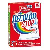 Lingette Anti-decoloration Decolor Stop - 25 Lingettes