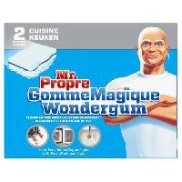 Lingette Nettoyante MR PROPRE Gomme magique cuisine x2