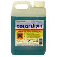 Liquides de Refroidissement Liquide refroidissement -25oC - 2L - Solgel Generique
