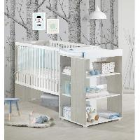 Lit Bebe BABYPRICE Lit Bebe Sitta Combine Evolutif 120x60 cm - Baby Price