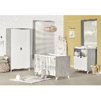 Lit Bebe Babyprice - SCANDI GRIS - Lit Bebe 120 x 60 - Baby Price