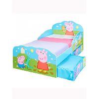 Lit Combine PEPPA PIG - Lit enfant avec rangement 14070 cm