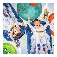 Lit D'appoint Je suis un astronaute - Lit junior ReadyBed - lit gonflable pour enfants avec sac de couchage intégré