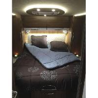 Lit De Camp INCASA Lit pour Camping-car Cosy - 140 x 190 cm - Lit central - Generique