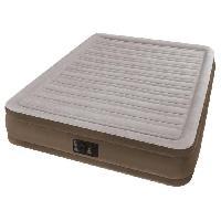 Lit Gonflable - Airbed INTEX Matelas COMFORT PLUSH FIBER TECH 152x203 - Gonflable - Fermeté réglable - 33 cm - Electrique -2 personnes