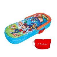 Lit Gonflable - Airbed PAT PATROUILLE Lit d'Appoint / Sac de couchage enfant avec sac de transport ReadyBed - Worlds Apart