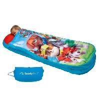 Lit Gonflable - Airbed PAT PATROUILLE Lit d'Appoint / Sac de couchage enfant avec sac de transport ReadyBed - Worlds Appart - Worlds Apart