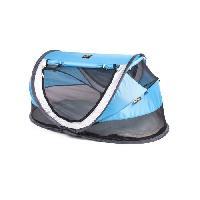 Lit Pliant - Parapluie DERYAN Lit de voyage tente bambin luxe Blue-Bleu