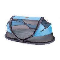 Lit Pliant - Parapluie DERYAN Lit de voyage tente bebe luxe Blue-Bleu