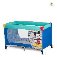 Lit Pliant - Parapluie MICKEY MOUSE Lit Parapluie Bebe Dream'n Play Geo Blue - Disney Baby Hauck