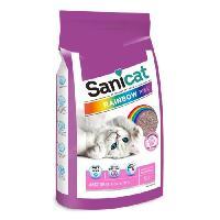Litiere Minerale - Silice - Argile Litiere Rainbow Pink 20L - Pour chat