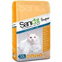 Litiere Minerale - Silice - Argile Litiere Super 30l pour chat